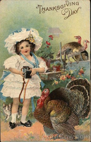 Thanksgiving Day Children