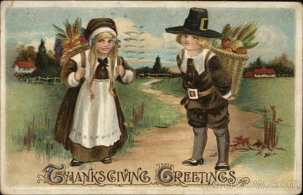Thanksgiving Greetings Children