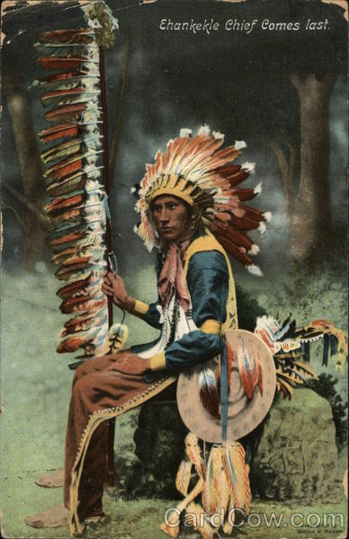 Ehankekle Chief Comes First Native Americana