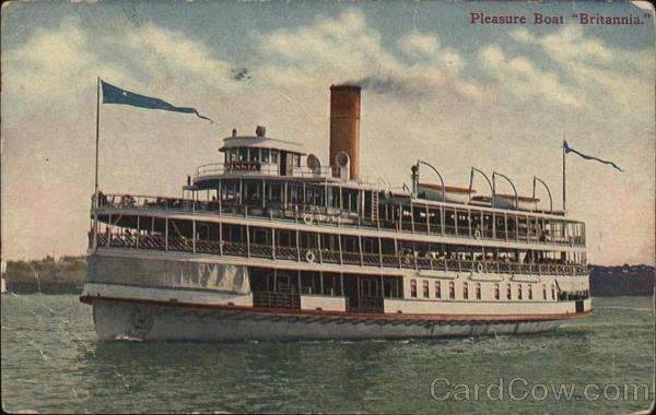 Pleasure Boat Britannia Steamers