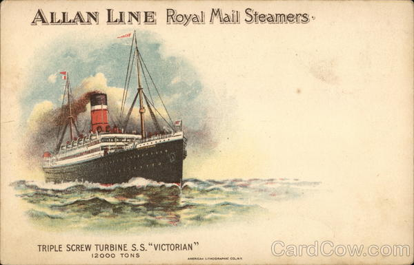 Allan Line Royal Mail Steamers