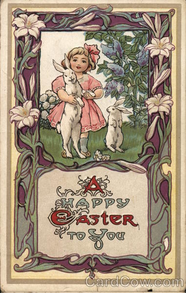 A Happy Easter to You With Children