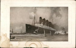 R. M. S. Lusitania and Mauretania