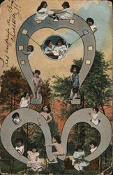 Children on Three Horseshoes