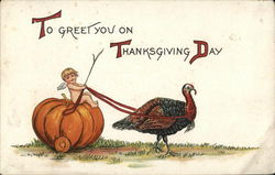 To Greet You On Thanksgiving Day