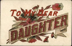 To My Dear Daughter