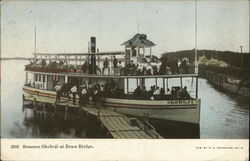 Steamer Okoboji at Draw Bridge