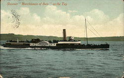 "Steamer ""Marchioness of Bute"" on the Tay"