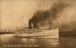 "Pacific Navigation Co.'s Str. ""Yale"""
