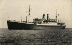 Steamship at Sea
