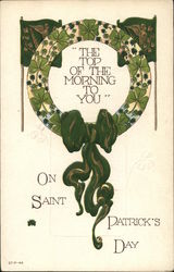 The Top Of The Morning To You On Saint Patrick's Day