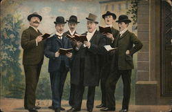 Group of Men Singing