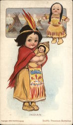 Little Indian Girl With Doll