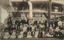 """In the Phillipines"" - The Taft Party On Board the ""Manchuria"""