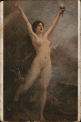 Nude Victory with Outstretched Arms