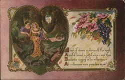 A Book of Verses underneath the bough Postcard