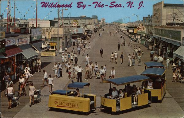 Boardwalk North of Playland Wildwood-by-the-Sea New Jersey