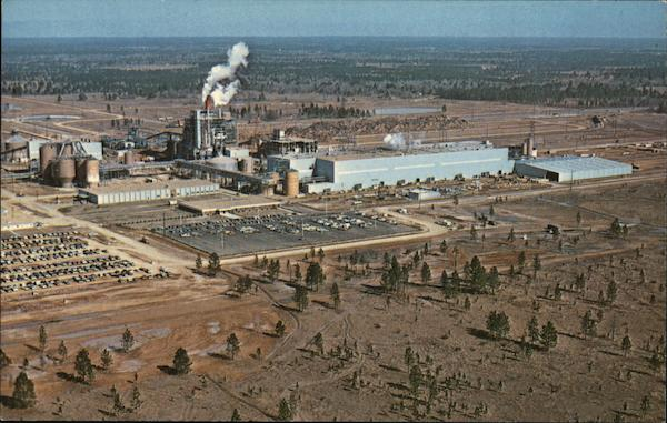 Boise Southern Paper Mill DeRidder Louisiana
