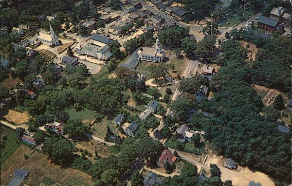 Aerial View of Concord, Massachusetts