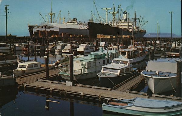 Boats at Dock Everett Washington