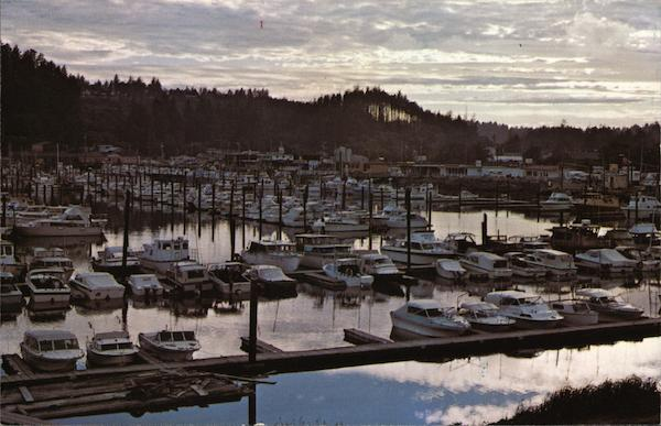 Ilwaco Port Basin Washington