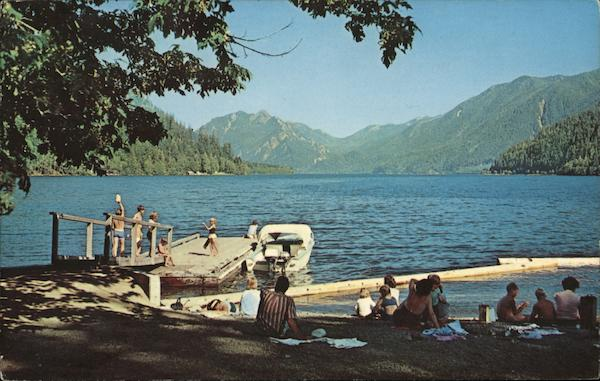 Lake Crescent Fairholm Washington