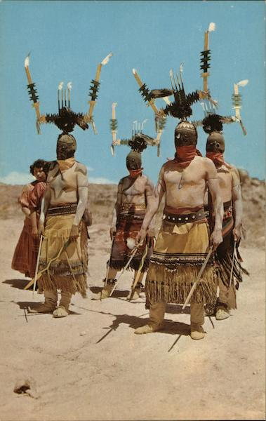 Apache Devil Dancers, New Mexico Native Americana