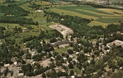 Aerial View Showing Jr. & Sr. High Schools