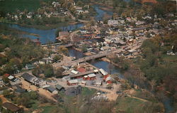 Aerial View of Clinton New Jersey