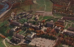 Aerial View of Campus, Holy Cross College