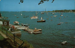 Marblehead Harbor From Crocker Park