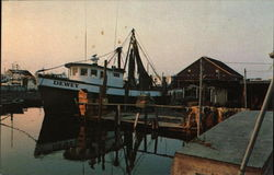 "Trawler ""Dewey"" at Dock"