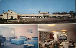 Country Club Motel Postcard