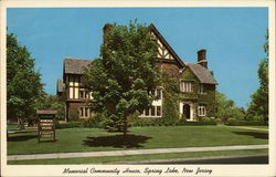 Memorial Community House Postcard