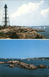 Marblehead Light and Entrance to Marblehead Harbor