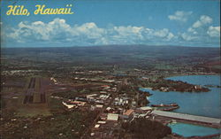 Aerial View of Hilo, Hawaii