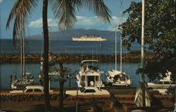 Matson's Flagship S.S. Lurline at Lahaina