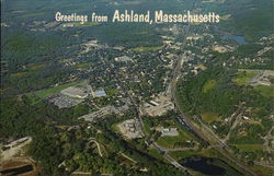 Greetings from Ashland, Massachusetts