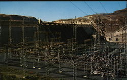 Grand Coulee Dam, Transformer and Switching Yard