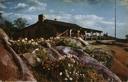 Flower Gardens and Summit Chalet, Mt. Cranmore