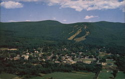 Aerial View of North Conway, New Hampshire