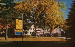 New England Inn Postcard