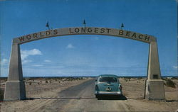 World's Longest Beach Sign