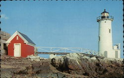 Fort Point Light Postcard