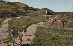 Mandan Indian Village