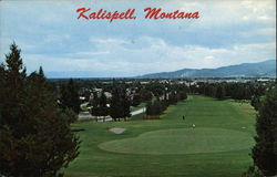 View of Town from Kalispell Golf Course