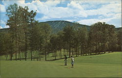 Stratton Mountain Country Club Postcard