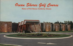 Ocean Shores Golf Course Postcard