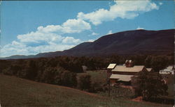 Mount Equinox, the Highest Peak of the Taconic Range Postcard