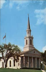 Mead Memorial Chapel, Middlebury College Postcard